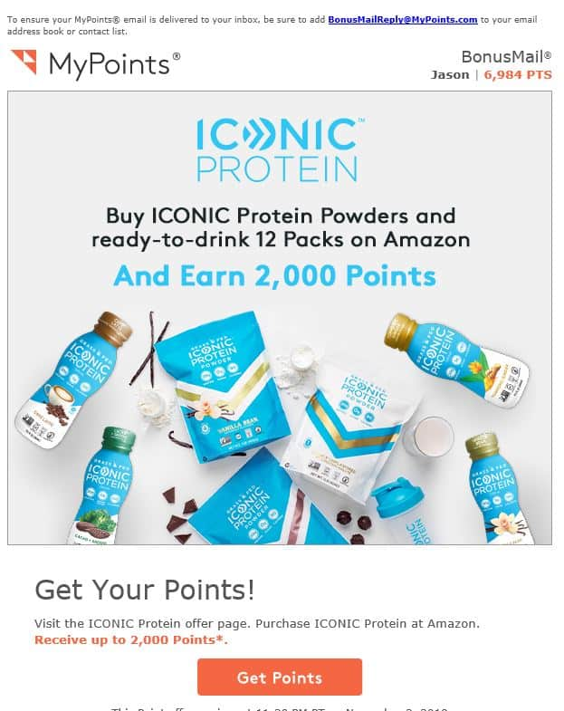 MyPoints Email